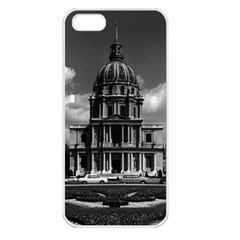 Vintage France Paris Church Saint Louis des Invalides Apple iPhone 5 Seamless Case (White)
