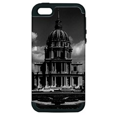 Vintage France Paris Church Saint Louis des Invalides Apple iPhone 5 Hardshell Case (PC+Silicone)