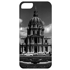 Vintage France Paris Church Saint Louis Des Invalides Apple Iphone 5 Classic Hardshell Case