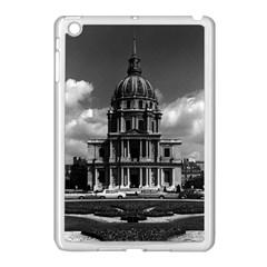 Vintage France Paris Church Saint Louis des Invalides Apple iPad Mini Case (White)