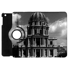 Vintage France Paris Church Saint Louis des Invalides Apple iPad Mini Flip 360 Case