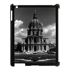 Vintage France Paris Church Saint Louis des Invalides Apple iPad 3/4 Case (Black)
