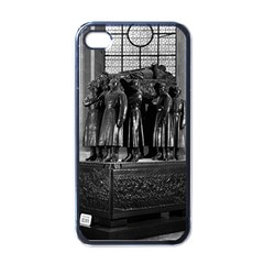 Vintage France Paris  Invalides marshal foch tomb 1970 Black Apple iPhone 4 Case