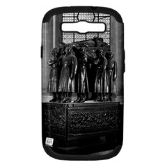 Vintage France Paris  Invalides marshal foch tomb 1970 Samsung Galaxy S III Hardshell Case (PC+Silicone)