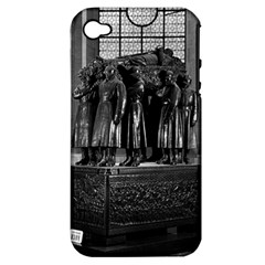 Vintage France Paris  Invalides marshal foch tomb 1970 Apple iPhone 4/4S Hardshell Case (PC+Silicone)