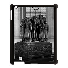 Vintage France Paris  Invalides marshal foch tomb 1970 Apple iPad 3/4 Case (Black)