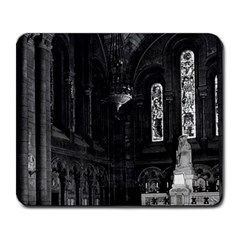Vintage France Paris sacre Coeur basilica virgin chapel Large Mouse Pad (Rectangle)