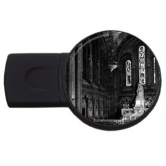 Vintage France Paris sacre Coeur basilica virgin chapel 2Gb USB Flash Drive (Round)