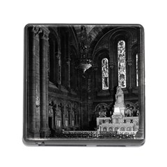 Vintage France Paris sacre Coeur basilica virgin chapel Card Reader with Storage (Square)