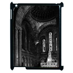 Vintage France Paris sacre Coeur basilica virgin chapel Apple iPad 2 Case (Black)