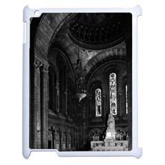 Vintage France Paris sacre Coeur basilica virgin chapel Apple iPad 2 Case (White)