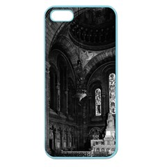 Vintage France Paris sacre Coeur basilica virgin chapel Apple Seamless iPhone 5 Case (Color)