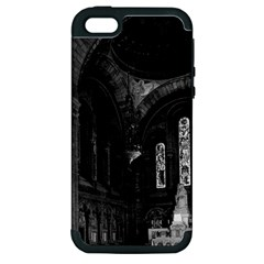 Vintage France Paris sacre Coeur basilica virgin chapel Apple iPhone 5 Hardshell Case (PC+Silicone)