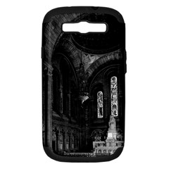 Vintage France Paris sacre Coeur basilica virgin chapel Samsung Galaxy S III Hardshell Case (PC+Silicone)