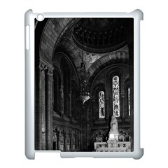 Vintage France Paris sacre Coeur basilica virgin chapel Apple iPad 3/4 Case (White)
