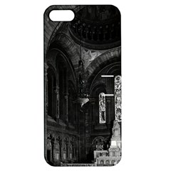 Vintage France Paris sacre Coeur basilica virgin chapel Apple iPhone 5 Hardshell Case with Stand