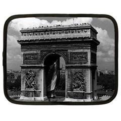 Vintage  France Paris Triumphal arch  Place de l Etoile 15  Netbook Case