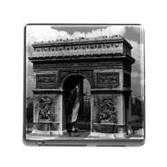 Vintage  France Paris Triumphal arch  Place de l Etoile Card Reader with Storage (Square)