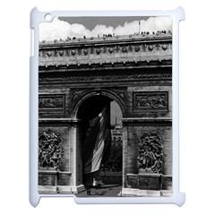 Vintage  France Paris Triumphal Arch  Place De L etoile Apple Ipad 2 Case (white)