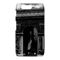 Vintage  France Paris Triumphal arch  Place de l Etoile Motorola Droid Razr XT912 Hardshell Case