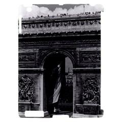 Vintage  France Paris Triumphal arch  Place de l Etoile Apple iPad 2 Hardshell Case (Compatible with Smart Cover)