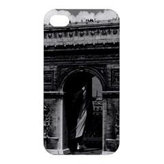 Vintage  France Paris Triumphal arch  Place de l Etoile Apple iPhone 4/4S Premium Hardshell Case
