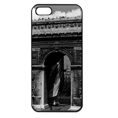 Vintage  France Paris Triumphal Arch  Place De L etoile Apple Iphone 5 Seamless Case (black)