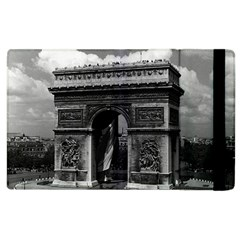 Vintage  France Paris Triumphal arch  Place de l Etoile Apple iPad 3/4 Flip Case
