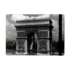 Vintage  France Paris Triumphal Arch  Place De L etoile Apple Ipad Mini Flip Case