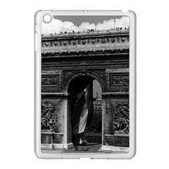 Vintage  France Paris Triumphal Arch  Place De L etoile Apple Ipad Mini Case (white)