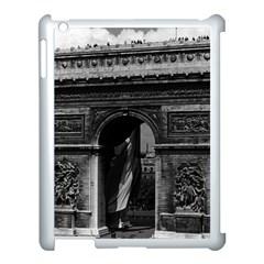 Vintage  France Paris Triumphal Arch  Place De L etoile Apple Ipad 3/4 Case (white)