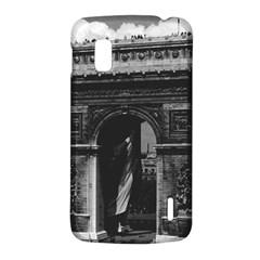 Vintage  France Paris Triumphal arch  Place de l Etoile LG Nexus 4 E960 Hardshell Case