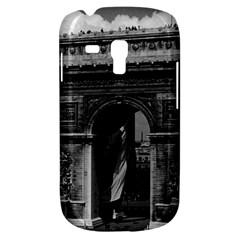 Vintage  France Paris Triumphal Arch  Place De L etoile Samsung Galaxy S3 Mini I8190 Hardshell Case