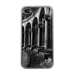 Vintage France Palace Of Versailles Colonnade Grove Apple Iphone 4 Case (clear)