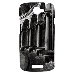 Vintage France palace of Versailles Colonnade Grove HTC One S Hardshell Case