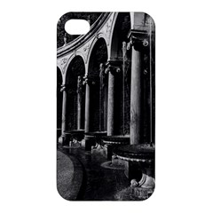 Vintage France Palace Of Versailles Colonnade Grove Apple Iphone 4/4s Premium Hardshell Case
