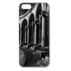 Vintage France Palace Of Versailles Colonnade Grove Apple Seamless Iphone 5 Case (clear)