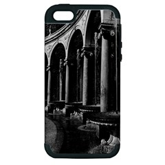 Vintage France palace of Versailles Colonnade Grove Apple iPhone 5 Hardshell Case (PC+Silicone)