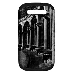 Vintage France palace of Versailles Colonnade Grove Samsung Galaxy S III Hardshell Case (PC+Silicone)