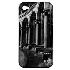 Vintage France palace of Versailles Colonnade Grove Apple iPhone 4/4S Hardshell Case (PC+Silicone)