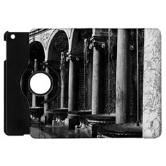 Vintage France palace of Versailles Colonnade Grove Apple iPad Mini Flip 360 Case