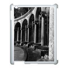 Vintage France palace of Versailles Colonnade Grove Apple iPad 3/4 Case (White)