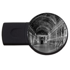 Vintage France palace of versailles mirrors galery 1970 2Gb USB Flash Drive (Round)