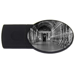 Vintage France palace of versailles mirrors galery 1970 1Gb USB Flash Drive (Oval)