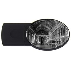 Vintage France palace of versailles mirrors galery 1970 4Gb USB Flash Drive (Oval)