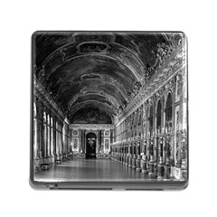 Vintage France palace of versailles mirrors galery 1970 Card Reader with Storage (Square)