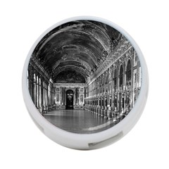 Vintage France Palace Of Versailles Mirrors Galery 1970 Twin Sided 4 Port Usb Hub (round)