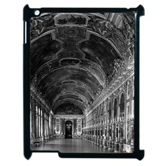 Vintage France palace of versailles mirrors galery 1970 Apple iPad 2 Case (Black)