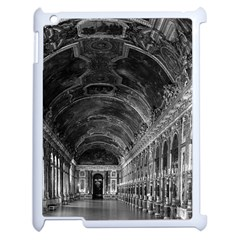 Vintage France palace of versailles mirrors galery 1970 Apple iPad 2 Case (White)