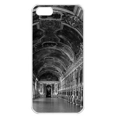 Vintage France Palace Of Versailles Mirrors Galery 1970 Apple Iphone 5 Seamless Case (white)